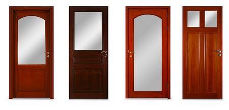 Ahşap Kapı Dekorasyonları 2