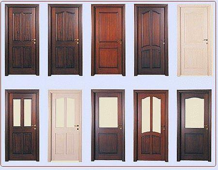 Ahşap Kapı Dekorasyonları 7
