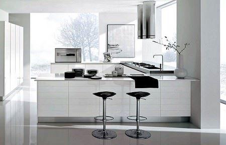 Beyaz Mutfak Modelleri 1