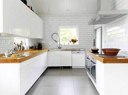 Beyaz Mutfak Modelleri 9
