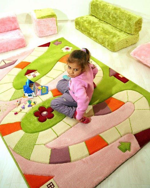 Çocuk Odası Halı Modeli 1