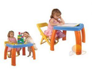 Çocuk Odaları için Masa Sandalye Takımı