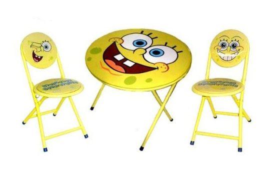 Çocuk Odaları için Masa Sandalye Takımı 7