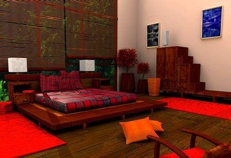 Modern Yatak Odası Dekorasyonları 1
