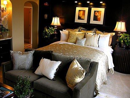 Modern Yatak Odası Dekorasyonları 2