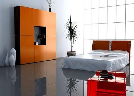 Modern Yatak Odası Dekorasyonları 12