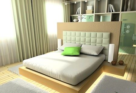 Modern Yatak Odası Dekorasyonları 3