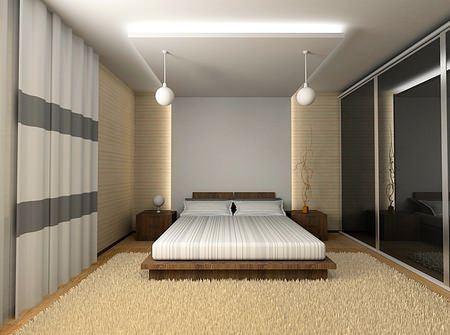 Modern Yatak Odası Dekorasyonları 4