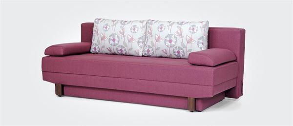 pembe yataklı kanepe çekyat