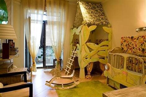 Değişik Çocuk Odası Dekorasyon Fikirleri 2
