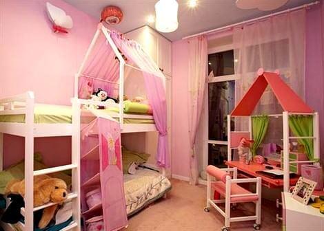 Değişik Çocuk Odası Dekorasyon Fikirleri 5