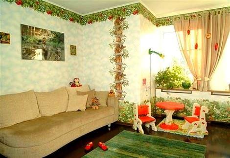 Değişik Çocuk Odası Dekorasyon Fikirleri 6