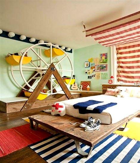 Değişik Çocuk Odası Dekorasyon Fikirleri 7