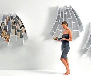 Farklı Tasarlanmış Kitaplık Modelleri