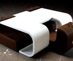 Değişik Tarzda Masa Sandalye Tasarımı
