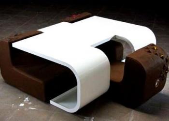 sandalyeli sehpa