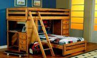 Ahşap Çocuk Odası Ranza Modelleri