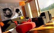 Renkli Benzersiz Sevimli Lüks Oturma Odası Fikirleri
