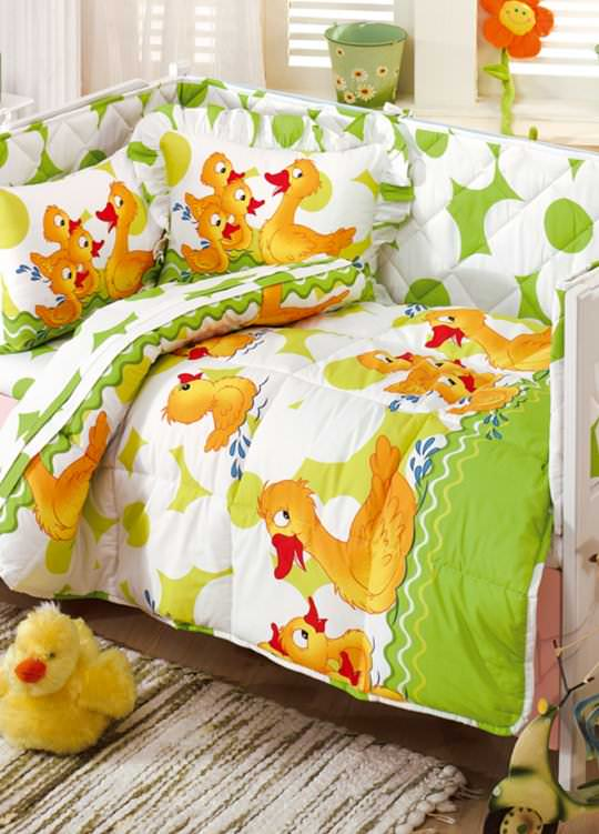 Bebek Karyolası Uyku Setleri 5