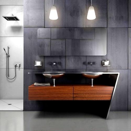 Modern Dekoratif 2012 Banyo Lavabo Modelleri 9