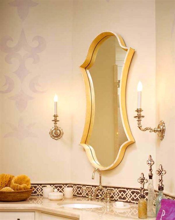 Dekoratif Banyo Lavabo Modelleri