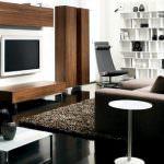 modern tv seyretme odası