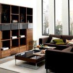 vitrinli oturma odası yeni trend modern oturma odası fikirleri