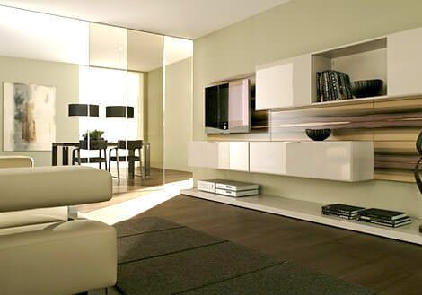 yeni model tv duvar Ünite modelleri - duvara monteli tv unitesi - Yeni Model Tv Duvar Ünite Modelleri