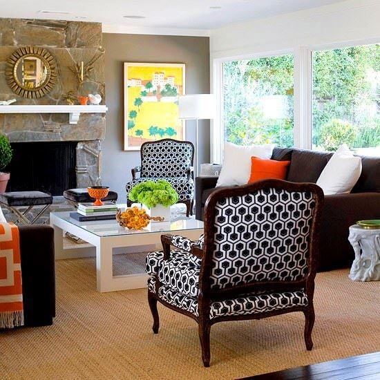 dekoratif renkli oda dekorasyon