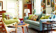 Canlı Renklerle Oda Dekorasyon Stilleri