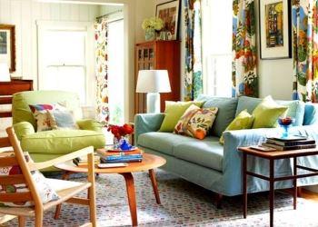 çok renkli dekorasyon örnekleri