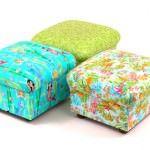 renkli-puflar-koltuk İlginç yeni tasarım puf modelleri