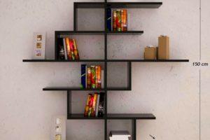 Dekoratif Kitaplık Tasarımları 61