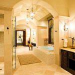 akdeniz stili dekorasyon fikirleri - hamam usulu banyo 150x150 - Akdeniz Stili Dekorasyon Fikirleri
