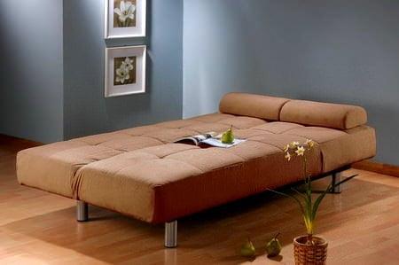 açılıp yatak olan kanepe