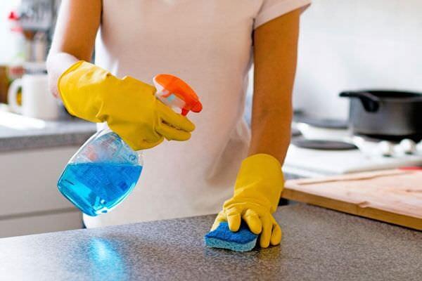 Mutfak Mermer Bakımı Ve Temizliği 6