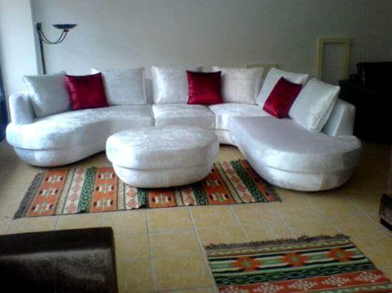 beyaz lüks köşe koltuk puflu köşe koltuk modelleri