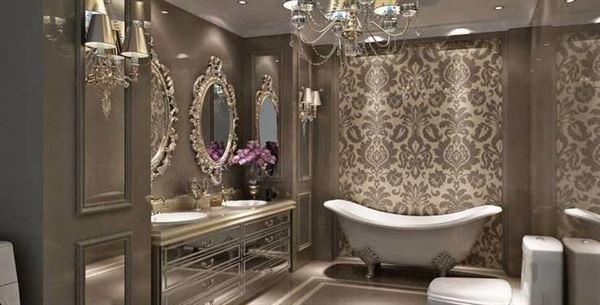 lüks modern banyo