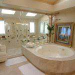 modern jakuzili banyo