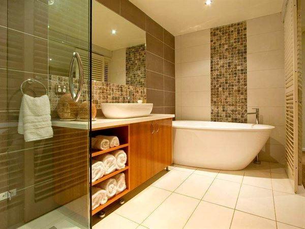 dekoratif dekorasyonlu banyo