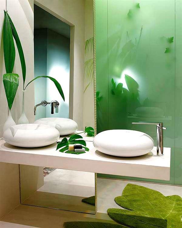Modern Lüks Banyo Dekorasyon Modeli 21