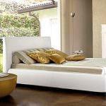 lüks yatak tasarımları yatak odası yatak modelleri - modern beyaz yatak odasi yatak 150x150 - Yatak Odası Yatak Modelleri