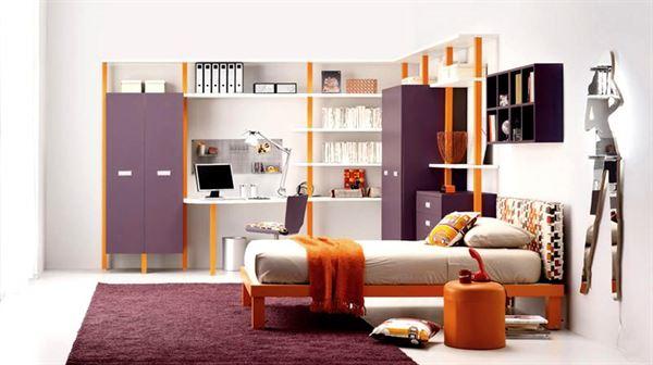 Modern Dekoratif Genç Odası Modelleri 17