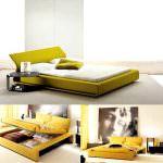 yatak odası modern sarı yatak yatak odası yatak modelleri - yatak modeli 150x150 - Yatak Odası Yatak Modelleri