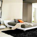 yatak odası beyaz yatak modelleri