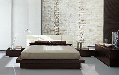 yatak odası lüks yatak