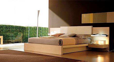 yatak odası modern yatak