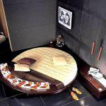 yuvarlak yatak modeli yatak odası yatak modelleri - yatak odasi yuvarlak yatak 150x150 - Yatak Odası Yatak Modelleri