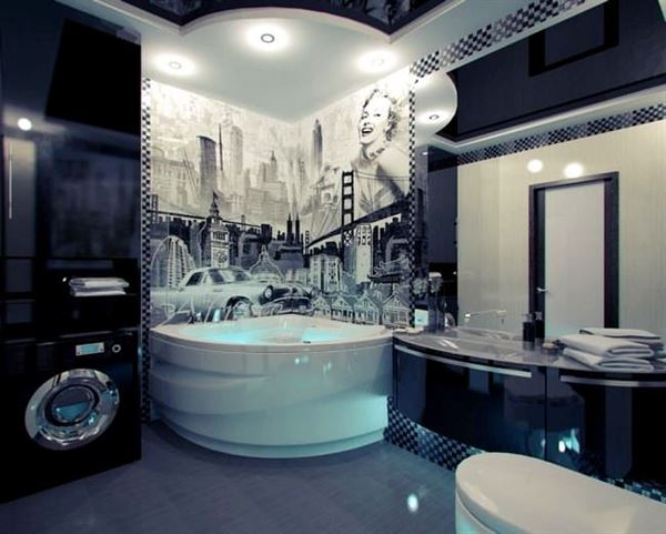 amerikan tarzı banyo