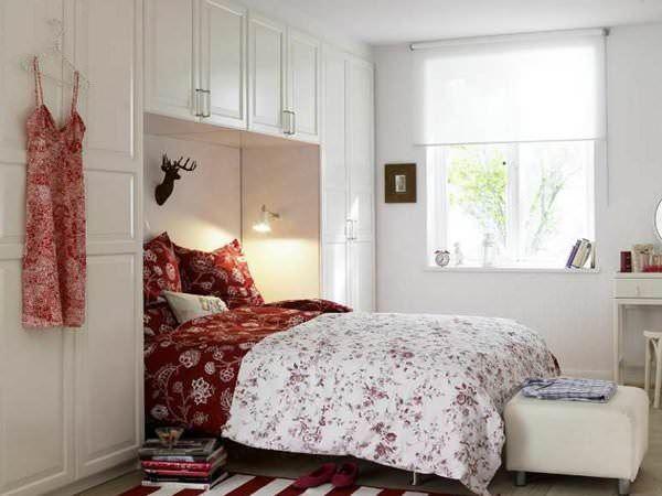 yatak odası küçük dekorlar